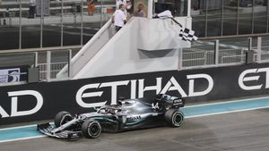 Lewis Hamilton (Mercedes) gana el GP de Abu Dabi, última cita del Mundial de Fórmula 1