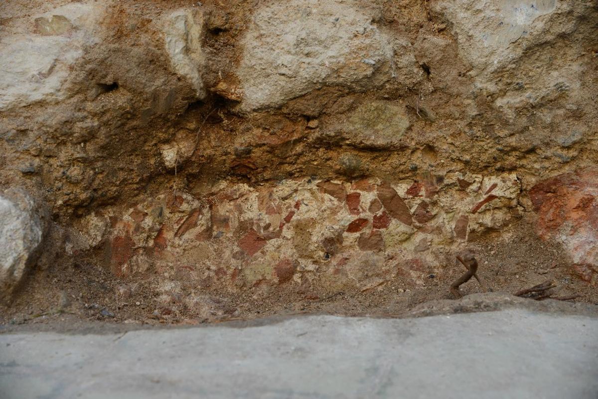 Restos arqueológicos de época romana hallados en el barrio de la Torrassa deL'Hospitalet