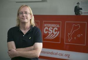 Sergi Perelló, elegit com a nou secretari general de la Intersindical-CSC