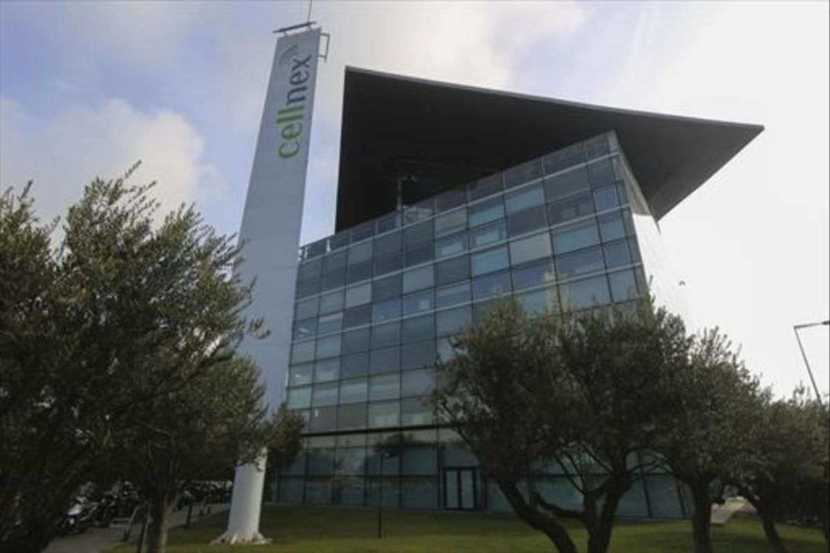 Sede de Cellnex en la Zona Franca, en Barcelona.