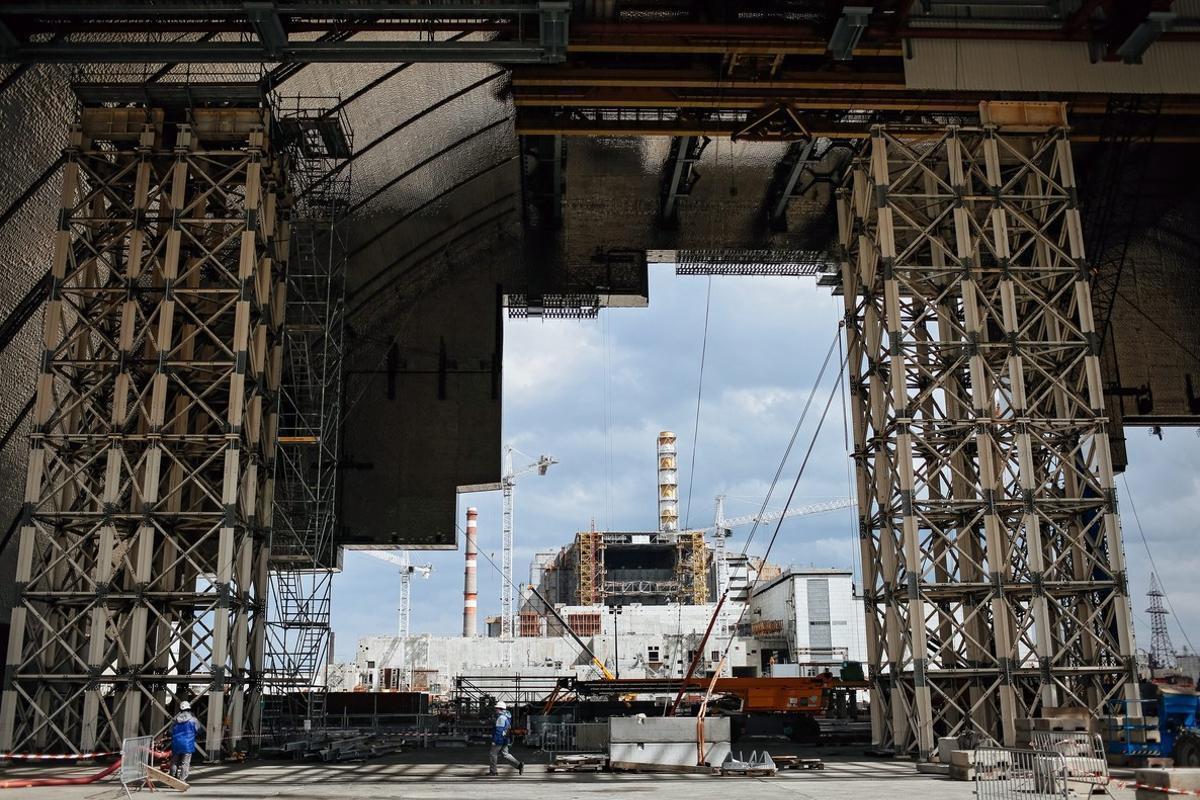 Chernóbil, en el 2016.