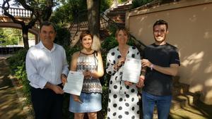 El PSC i Sant Boi en Comú presenten un acord de govern per als pròxims quatre anys