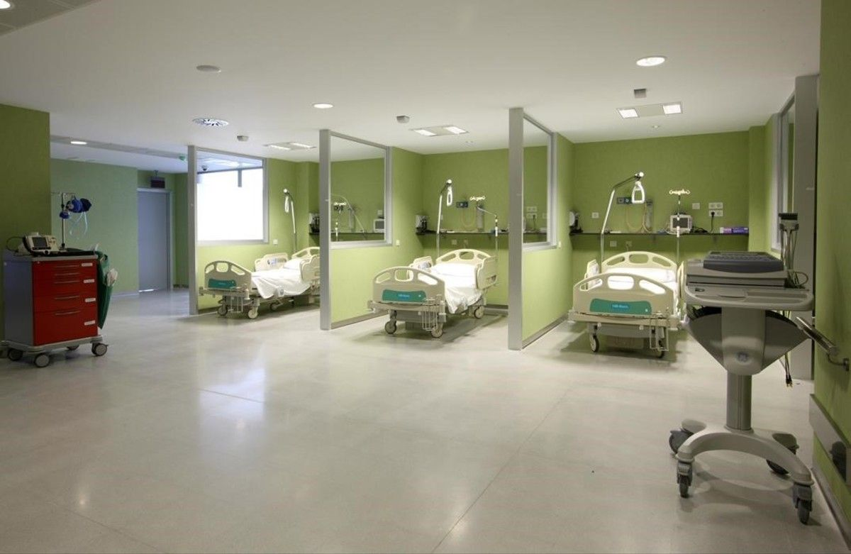 Instalaciones del hospital Príncipe de Asturias de Alcalá de Henares.