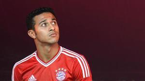 Thiago Alcántara, el centrocampista del Bayern de Múnich.