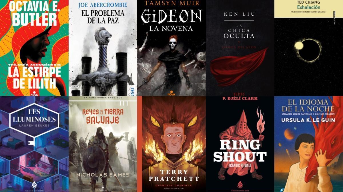 Fantasía y ciencia ficción: 15 libros recomendados para Sant Jordi 2021