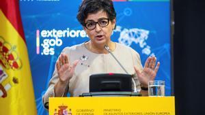 La ministra de Asuntos Exteriores, Arancha González Laya.