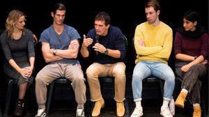 Antonio Banderas presenta su musical 'A chorus line'.