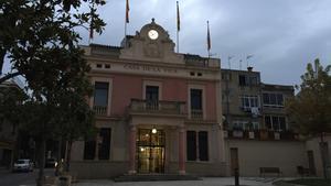 L'Ajuntament de Rubí.