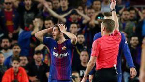 Javier Tebas anuncia l'horari del Barça-Madrid