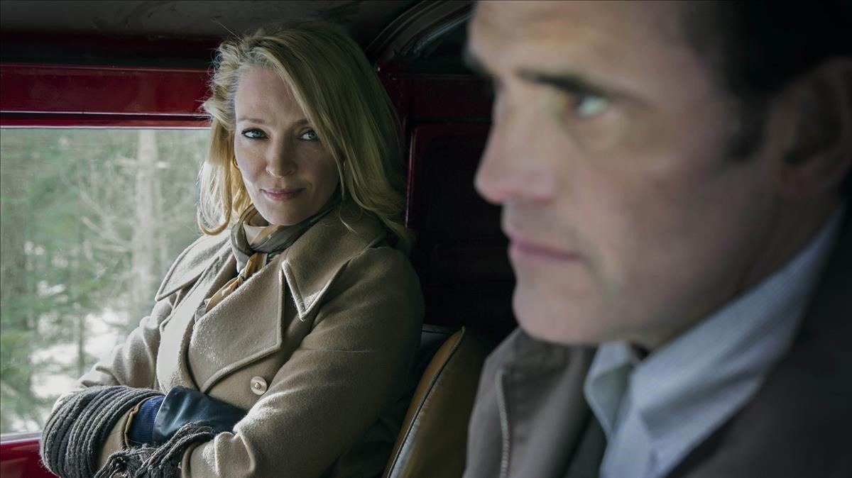 Uma Thurman y Matt Dillon en 'La casa de Jack'.