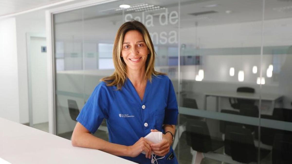 Raquel Gascón, coordinadora obstétrica del Hospital Can Misses.
