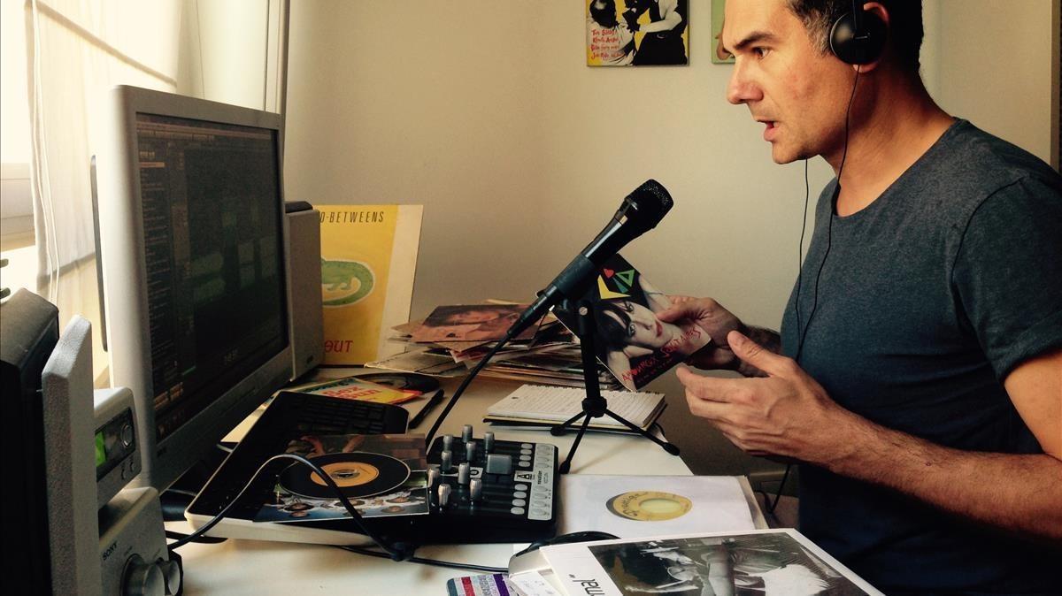 Jaime Cristóbal, responsable de un 'podcast' musical desde el 2005