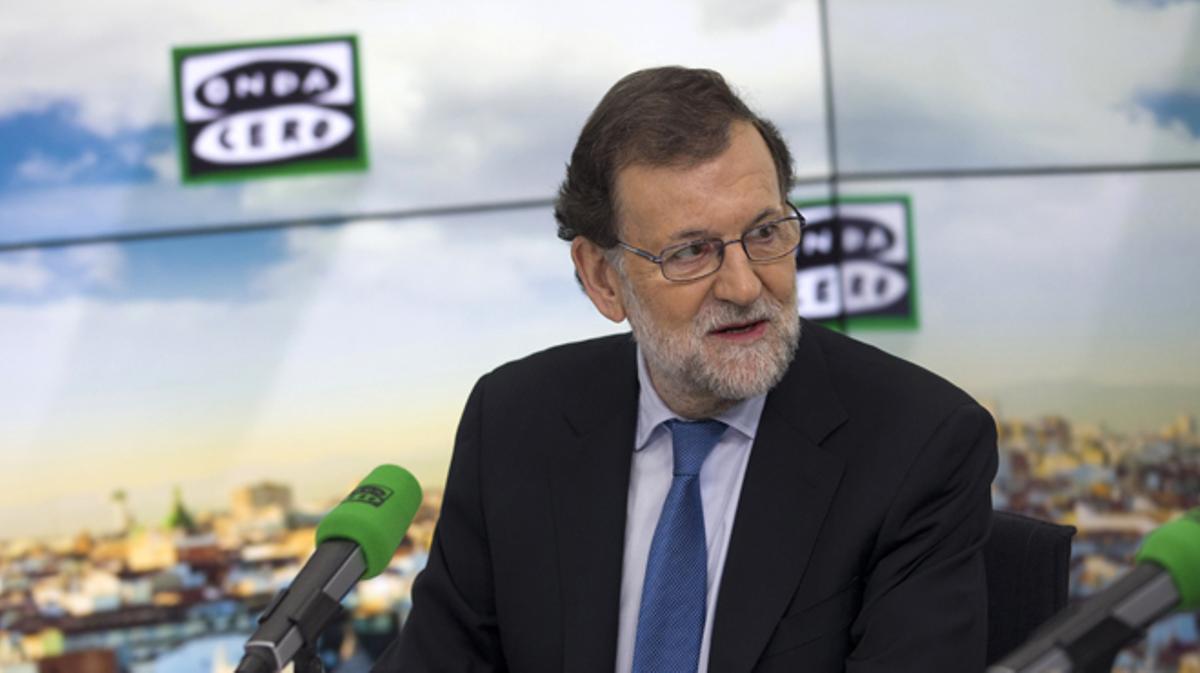 Rajoy confía en que llueva para bajar el precio de la luz
