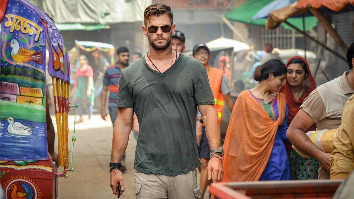 Chris Hemsworth en 'Tyler Rake'.