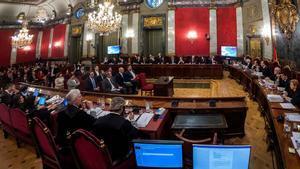 El Supremo se opone a conceder el indulto a los condenados por el 'procés'.