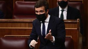 Casado acusa a Sánchez de filtrar las acusaciones de Bárcenas por la campaña catalana-