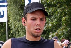 Andreas Lubitz en una carrera popular en Hamburgo, en el 2009.