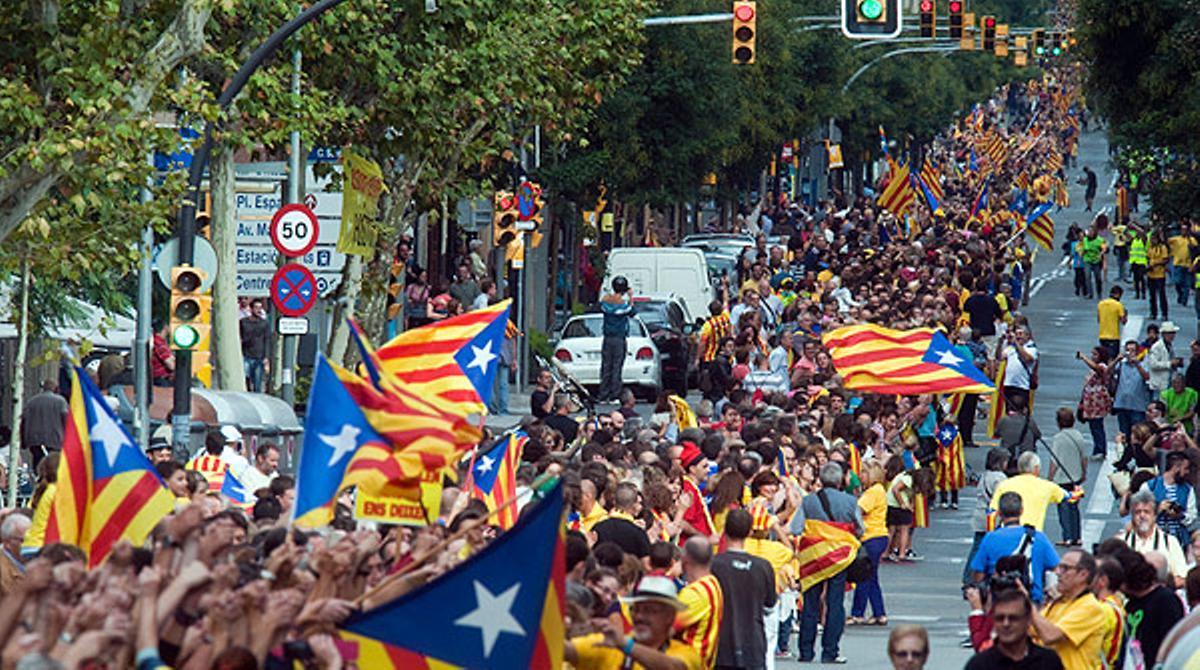 La Via Catalana, 400 kilómetros para unir El Pertús con Vinaròs