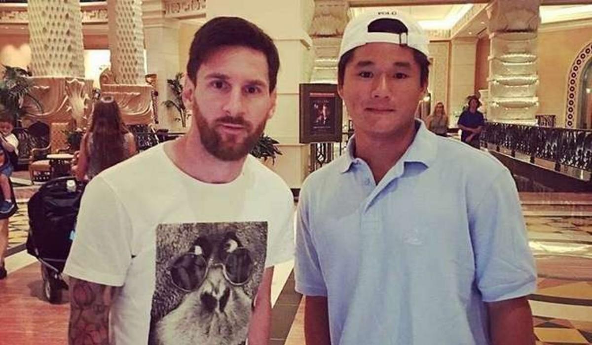 Messi descansa en las Bahamas antes de regresar a Barcelona