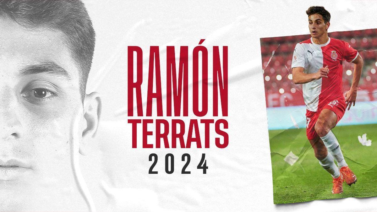 Ramón Terrats, renovado.