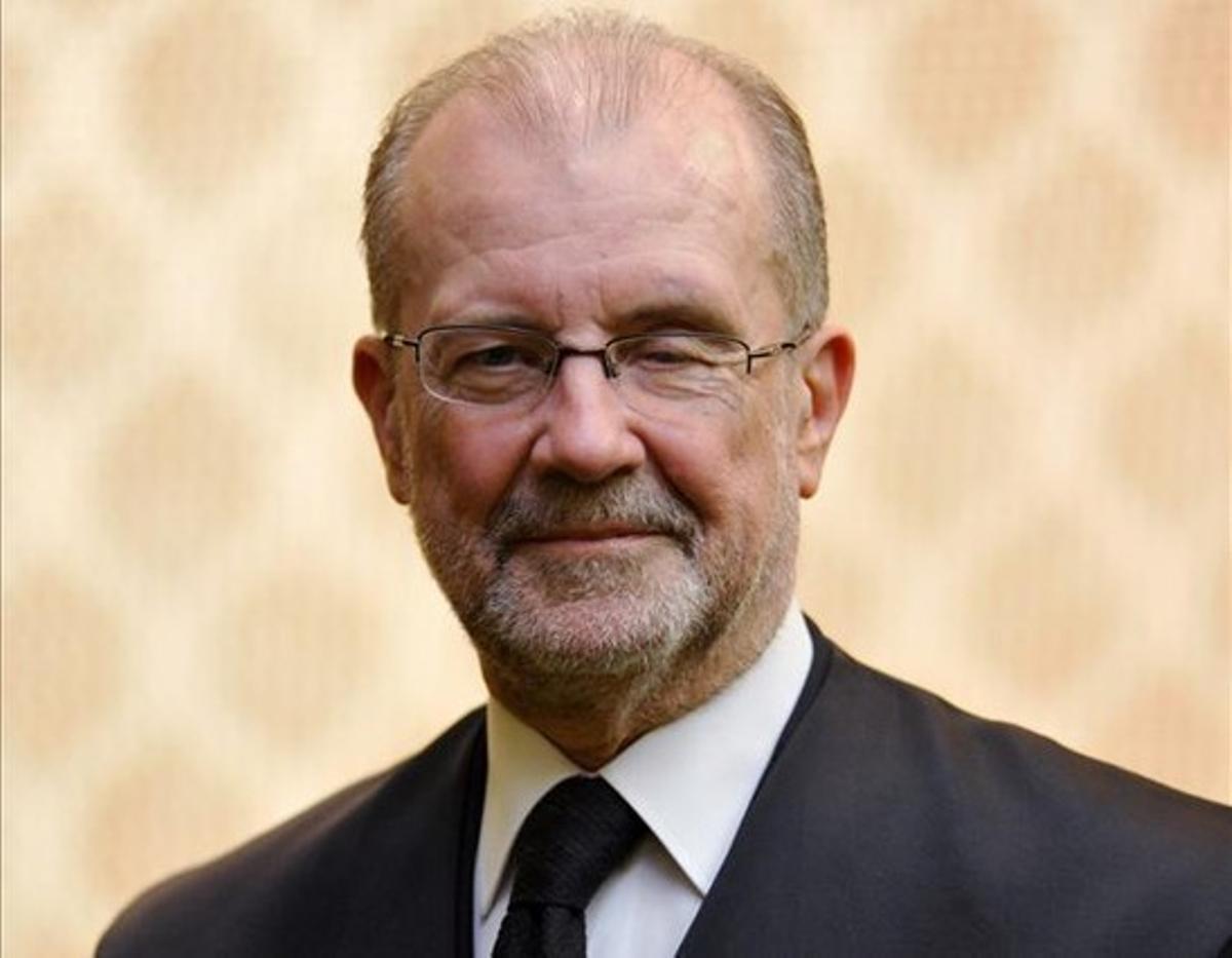 El magistrado del Tribunal Constitucional, Juan Antonio Xiol.