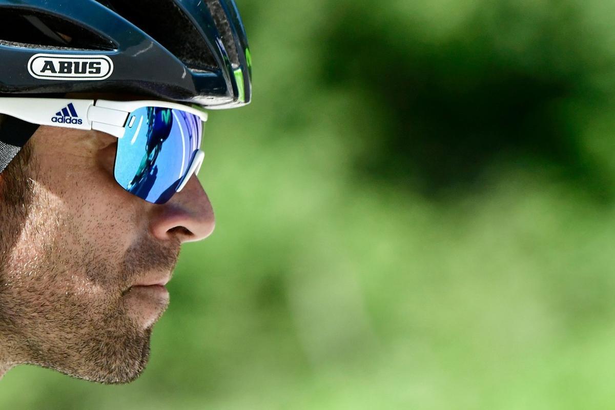 Alejandro Valverde, en el Critérium del Dauphine 2017.