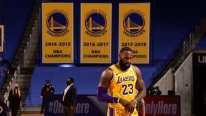 Lebron James se erigió una vez más como MVP en el Chase Center.