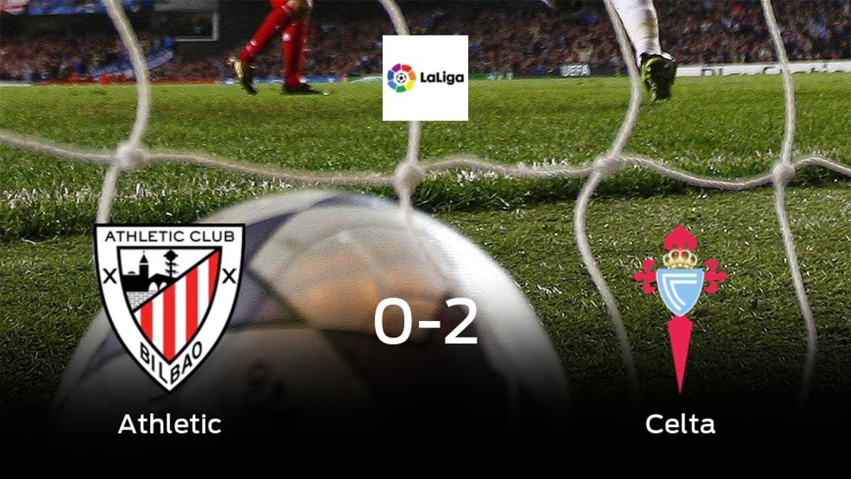 El Celta vence 0-2 en el estadio del Athletic