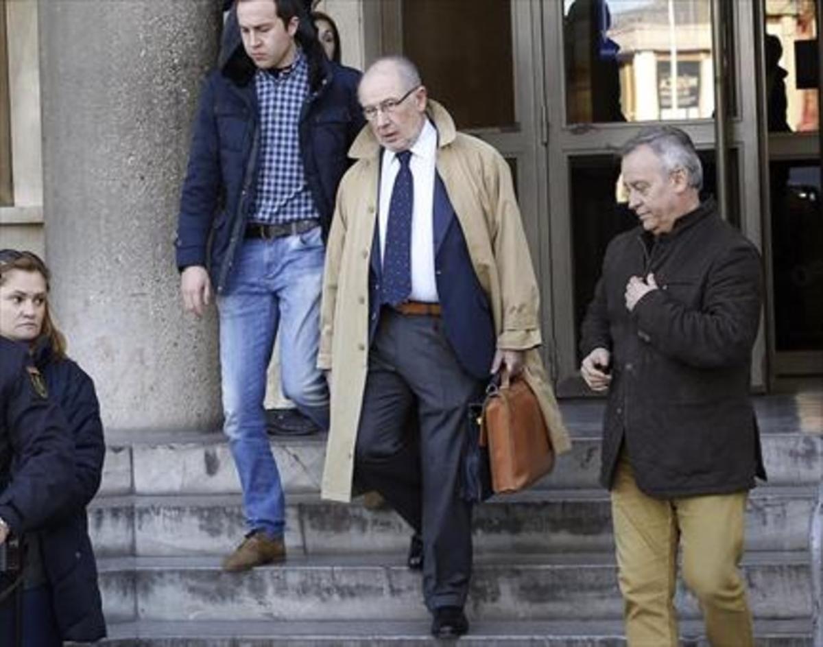 Rodrigo Rato, sospechosode cometer varios delitos por la salida a bolsa de Bankia.
