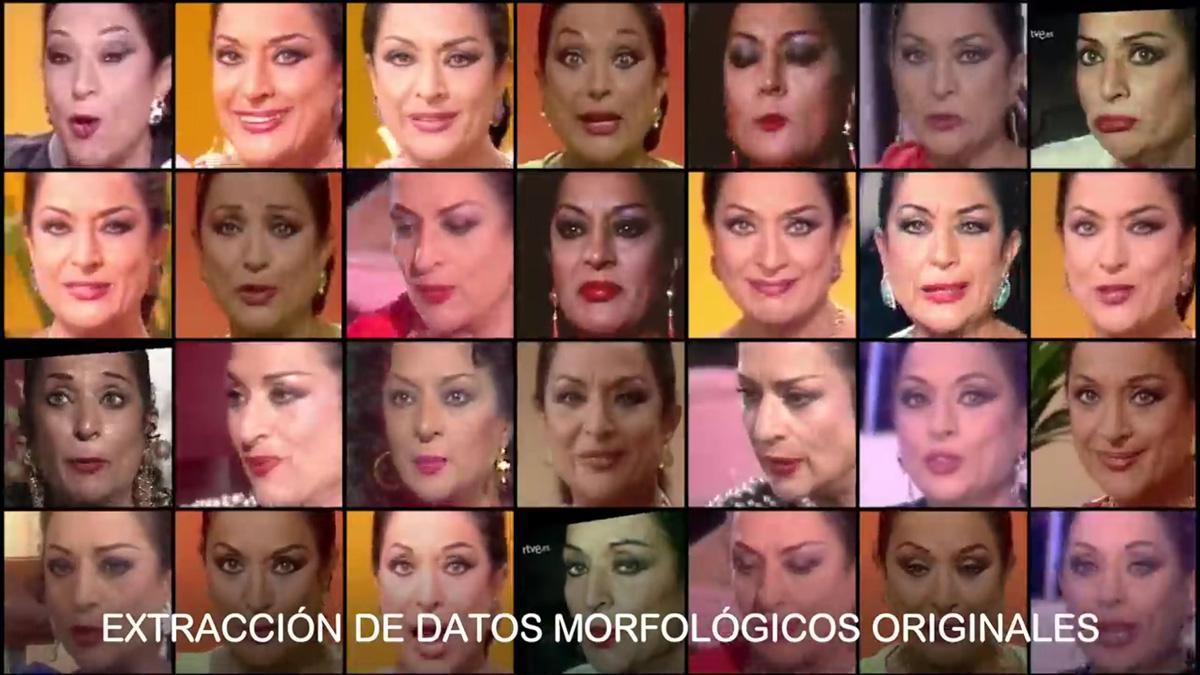 Cómo se hizo el 'deepfake' de Cruzcampo con Lola Flores.