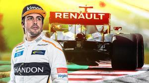 """Fernando Alonso: """"Quiero hacer campeón a Renault"""""""