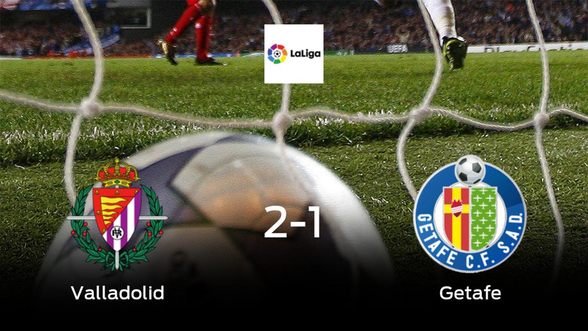 2-1: El Real Valladolid se impone al Getafe en casa