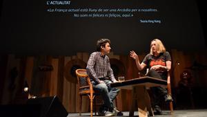 Virginie Despentes, entrevistada por Jordi Nopca en el Primera Persona
