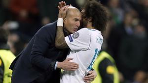 El Reial Madrid estudia una solució per tenir Marcelo contra el Chelsea
