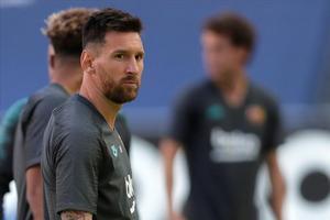 Messi com a resposta