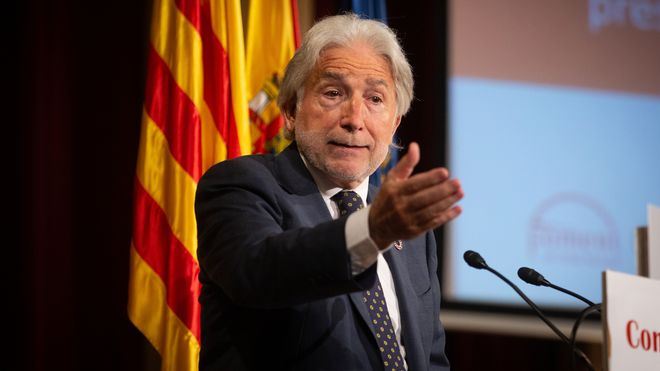 Jose Sánchez Llibre, presidente de Foment del Treball.