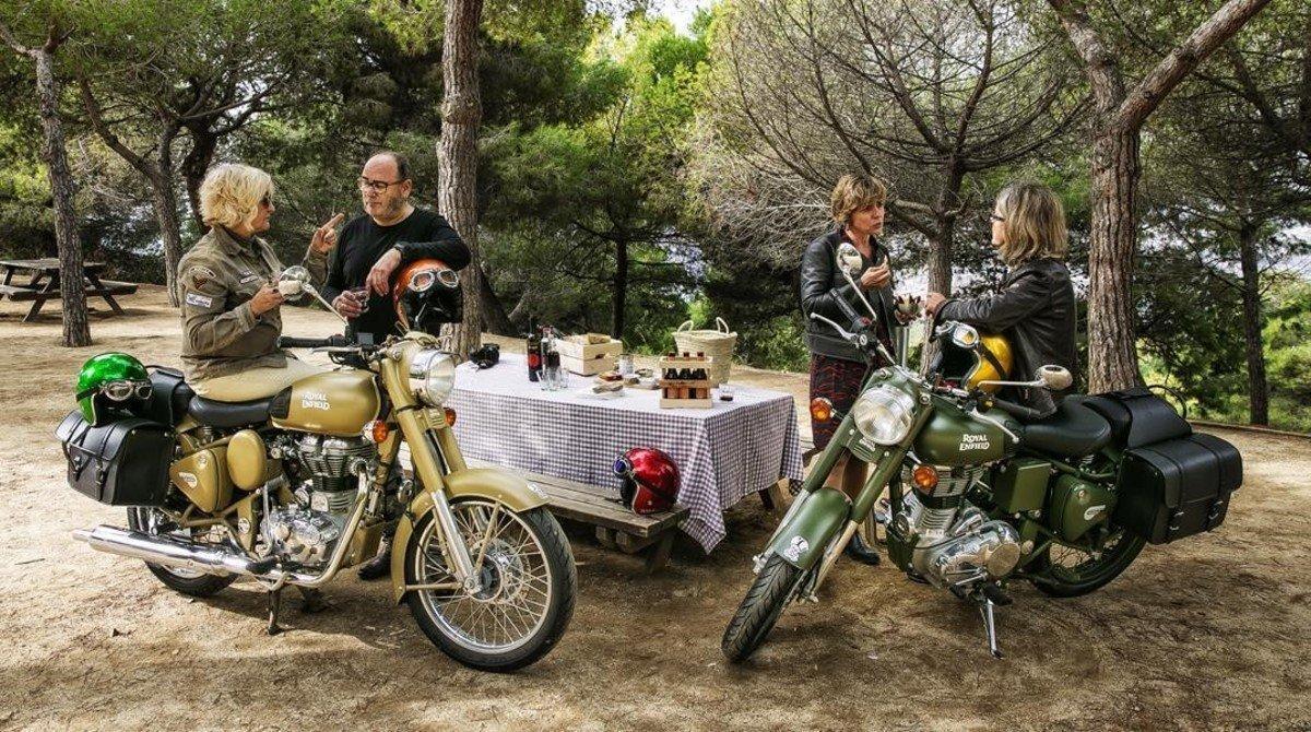 Una de las salidas propuestas por Angie y Deme, esta con pícnic en el Mirador del Migdia.