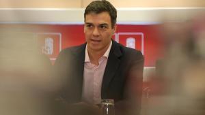 Sánchez busca exhibir unitat en un acte amb González, Zapatero, Rubalcaba i Almunia