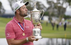 John Rahm, campeón del Open de Estados Unidos de golf