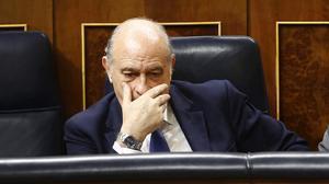 Jorge Fernández Díaz, en su etapa como ministro del Interior, en el Congreso en octubre del 2016.