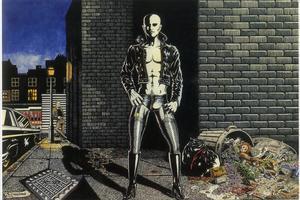 Ilustración de Nazario para la portada de un número de 'Rock Comix' (1976), que Lou Reed pirateó para la portada del disco en directo 'Take no prisoners' (1978); la justicia dio finalmente la razón al artista.
