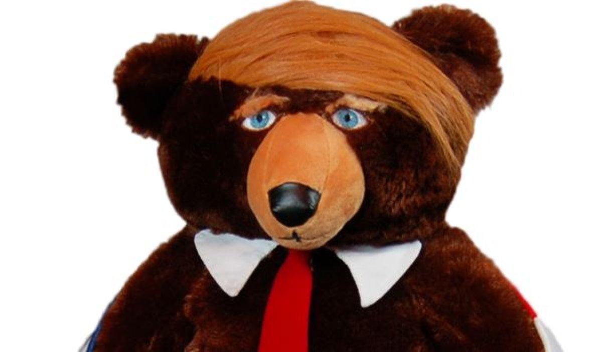 El osito de peluche 'Trumpy Bear'.