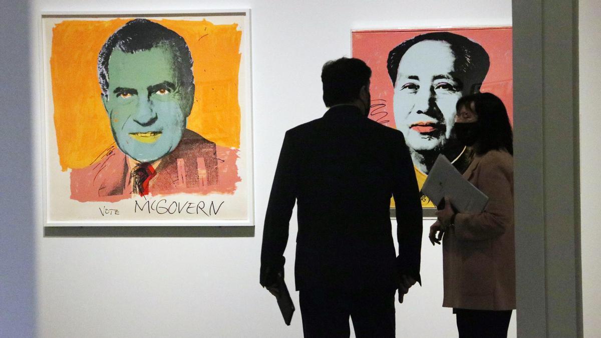 El gravat fins i tot a la sopa de Warhol