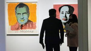 El grabado hasta en la sopa de Warhol