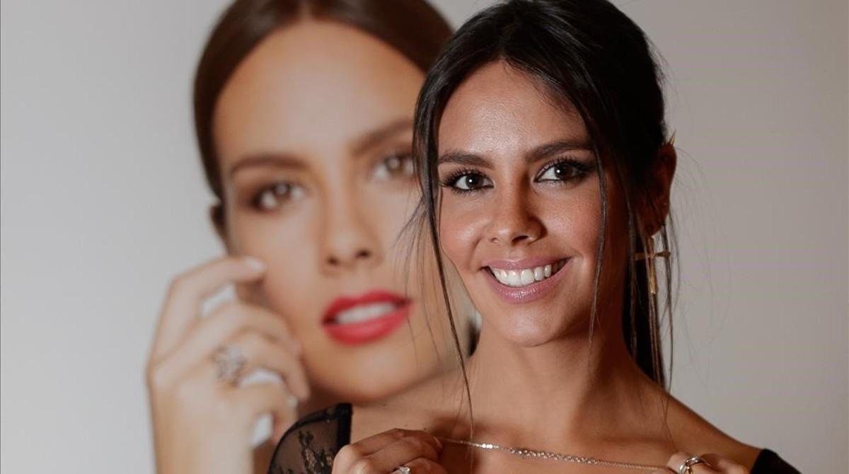 Cristina Pedroche, en la presentación de joyas de Pomellato.