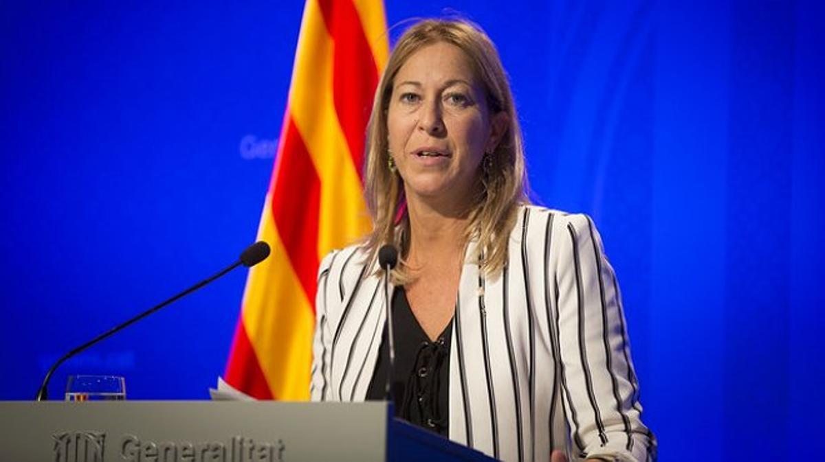 La vicepresidenta y portavoz del Gobierno catalán, Neus Munté, ha asegurado que les entristece y sorprende la declaración de Rajoy.
