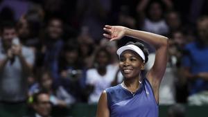 Venis Williams jugará su tercera final en el Masters en busca de su segundo título.