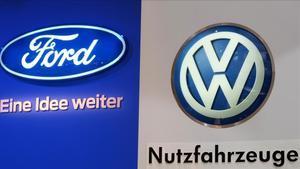 Volkswagen i Ford s'alien en el sector dels vehicles comercials