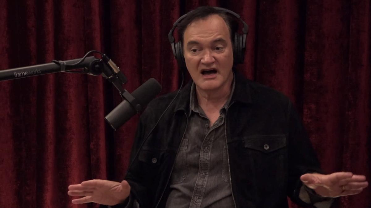 Tarantino, en 'The Joe Rogan Experience'.