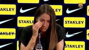 Vicky Losada se'n va del Barça entre llàgrimes: «Hem sigut eternes»